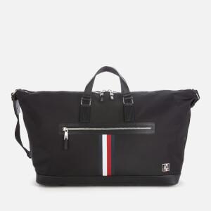 Tommy Hilfiger Men's Clean Nylon Duffle Bag - Black