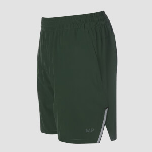 Gevlochten Training Shorts - Hunter Green