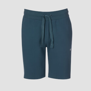 Rest Day Slogan Shorts - Blå