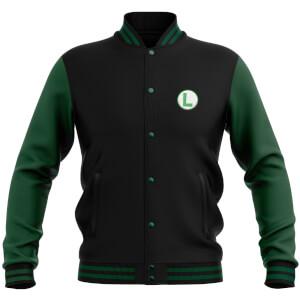Nintendo Luigi Varsity Jacket - Black / Green