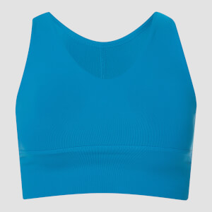 MP Women's Power Longline Sports Bra - Sea Blue