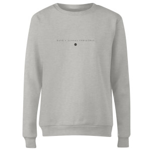 GLOSSYBOX Women's Christmas Jumper - GLOSSY Christmas - Grey