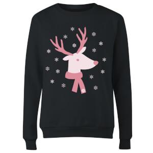 GLOSSYBOX Women's Christmas Jumper - GLOSSY Reindeer - Black