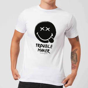 Trouble Maker Men's T-Shirt - White