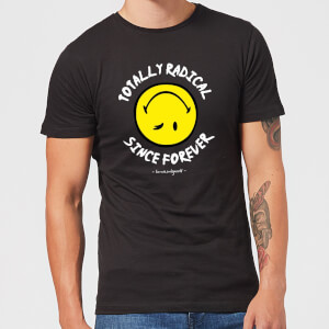 Totally Radical Since Forever Men's T-Shirt - Black
