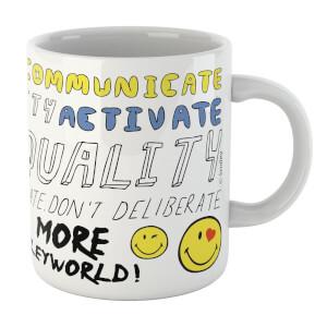 Positive Message Smiley Mug