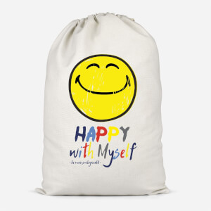 Happy With Myself Storage Bag Cotton Storage Bag