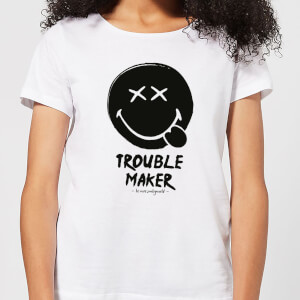 Trouble Maker Women's T-Shirt - White