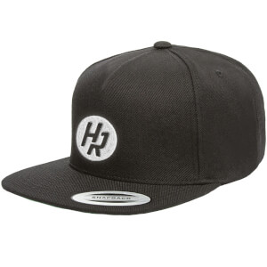 How Ridiculous HR Emblem Black Embroidered Snapback Cap