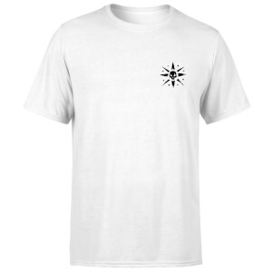 Sea of Thieves Compass Embroidery T-Shirt - White