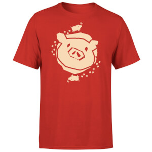 Sea of Thieves Pig T-Shirt - Red