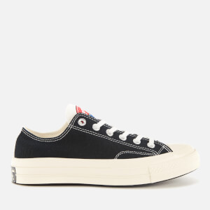 Converse Women's Chuck 70 Logo Play Ox Trainers - White/Black/Desert Ore