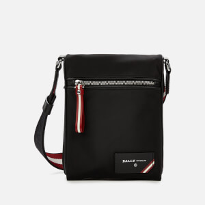 Bally Men's Finched Cross Body Bag - Black