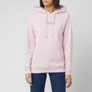 KENZO Women's Essential Classic Hoody - Faded Pink