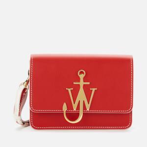 JW Anderson Women's Anchor Braided Logo Bag - Scarlet