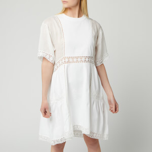 See By Chloé Women's T-Shirt Dress - White Powder