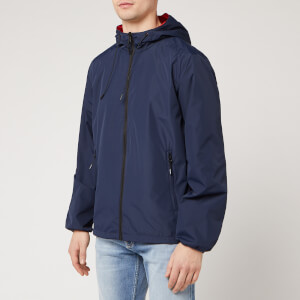 KENZO Men's Reversible Windbreaker Jacket - Midnight Blue