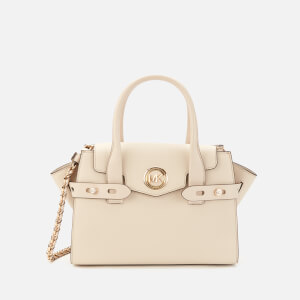 MICHAEL MICHAEL KORS Women's Carmen Small Flap Belted Satchel - Light Sand