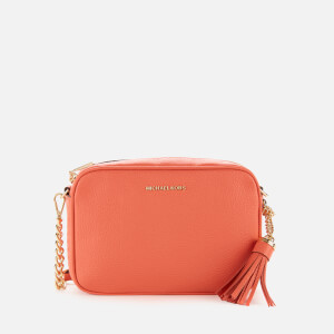 MICHAEL MICHAEL KORS Women's Jet Set Medium Camera Bag - Pink Grapefruit