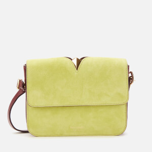 Kate Spade New York Women's Mystery Suede Small Shoulder Bag - Sulfur Multi