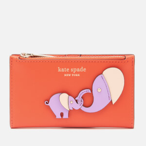 Kate Spade New York Women's Applique Tiny Small Wallet - Tamarillo Multi