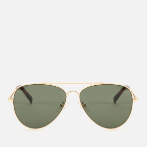 Le Specs Women's Fly High Sunglasses - Gold/Khaki