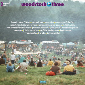Various Artists - Woodstock Three LP