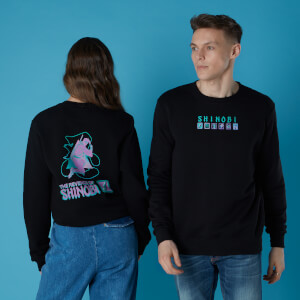 Sega Revenge Of Shinobi Unisex Sweatshirt - Black
