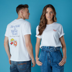 T-shirt Sega Alex Kidd - Blanc - Unisexe