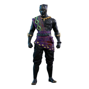 Figurine Articulée T'Chaka (à l'échelle 1/6) Black Panther Exclusivité Toy Fair 2018 Movie Masterpiece 31cm - Hot Toys