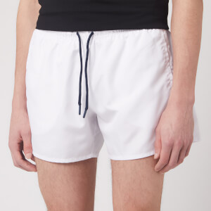 Emporio Armani Men's Classic Swim Shorts - White