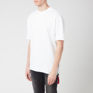 HUGO Men's Dwhite T-Shirt - White