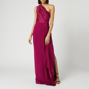 Solace London Women's Mara Maxi Dress - Plum