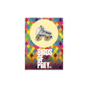 Harley Quinn Birds of Prey Collectable Pin Badge - Rolllerblade