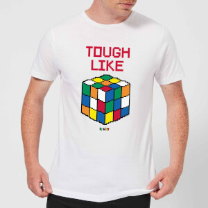 Tough Like A Rubik's Cube Men's T-Shirt - White