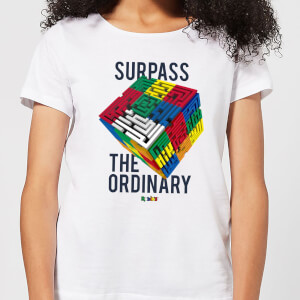 Surpass The Ordinary Women's T-Shirt - White