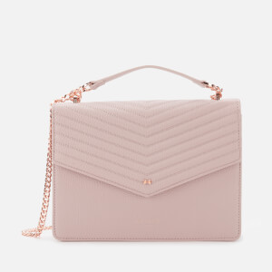 Ted Baker Women's Kalila Bow Detail Envelope Cross Body Bag - Pale Pink