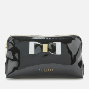 Ted Baker Women's Vivekah Bow Detail Makeup Bag - Black