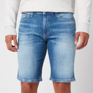 Tommy Jeans Men's Scanton Slim Denim Shorts - Court Black