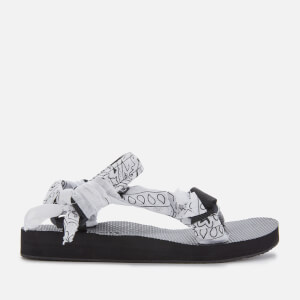 Arizona Love Women's Trekky Bandana Sandals - White
