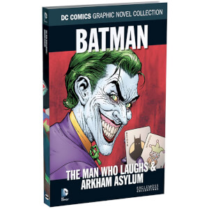 DC Comics Graphic Novel Collection - Batman: The Man Who Laughs & Arkham Asylum - Volume 51