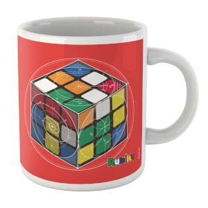 Rubik Scientific Equations Cube Mug Mug