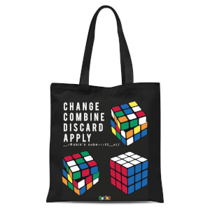 Change Combine Discard Apply Tote Bag - Black