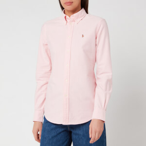 Polo Ralph Lauren Women's Kendal Long Sleeve Shirt - BSR Pink