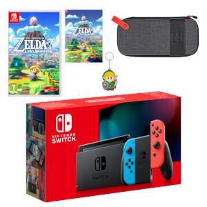 Nintendo Switch (Neon Blue/Neon Red) The Legend of Zelda: Link's Awakening Pack