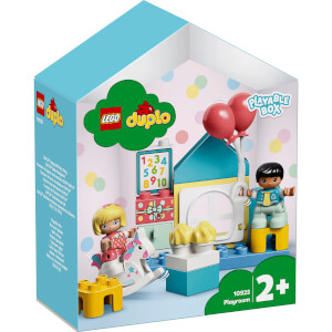 LEGO DUPLO Town: Playroom Playable Dolls House Box (10925)