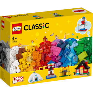 LEGO Classic: 4+ Bricks and Houses Building Set (11008)