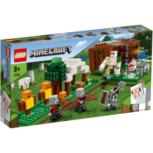 LEGO® Minecraft™: El Puesto de Saqueadores (21159)