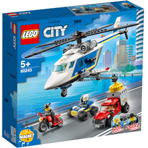 LEGO® City: Verfolgungsjagd mit dem Polizeihubschrauber (60243)