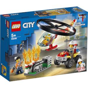 LEGO® City: L'intervention de l'hélicoptère des pompiers (60248)